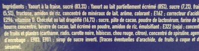 Smarties yaourt - Ingrediënten - fr