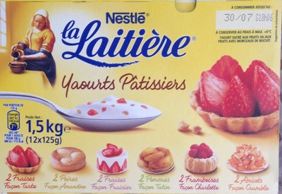 Yaourts Pâtissiers - Product