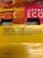 Petit Pot de Crème Caramel - Ingrédients - fr