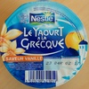 Le Yaourt à la Grecque, Saveur Vanille - Product