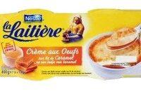 Crème aux oeufs sur lit de caramel - Product
