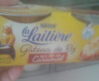 Gâteau de Riz sur Lit de Caramel - Product - fr