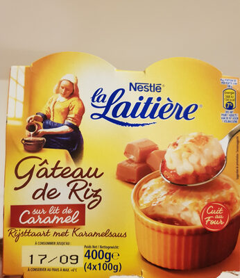 La Laitière - Ingredients - fr