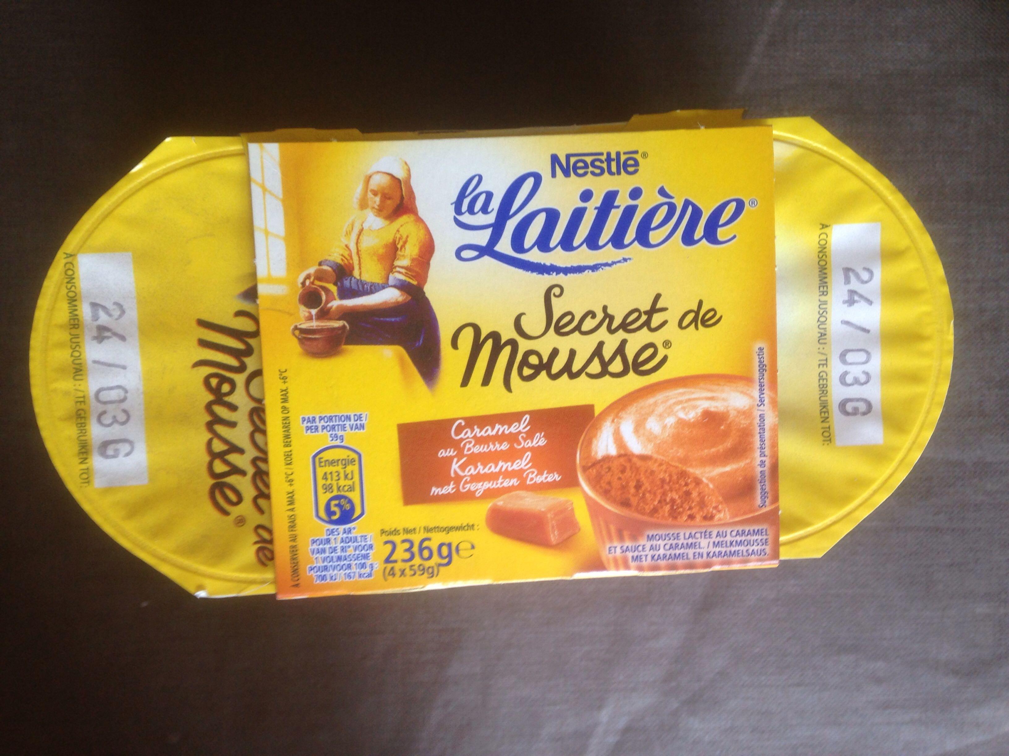 Secret de Mousse Caramel Beurre Salé - Product