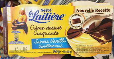 Crème dessert Craquante Saveur Vanille - Product