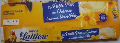 Le Petit Pot de Crème Saveur Vanille - Produit