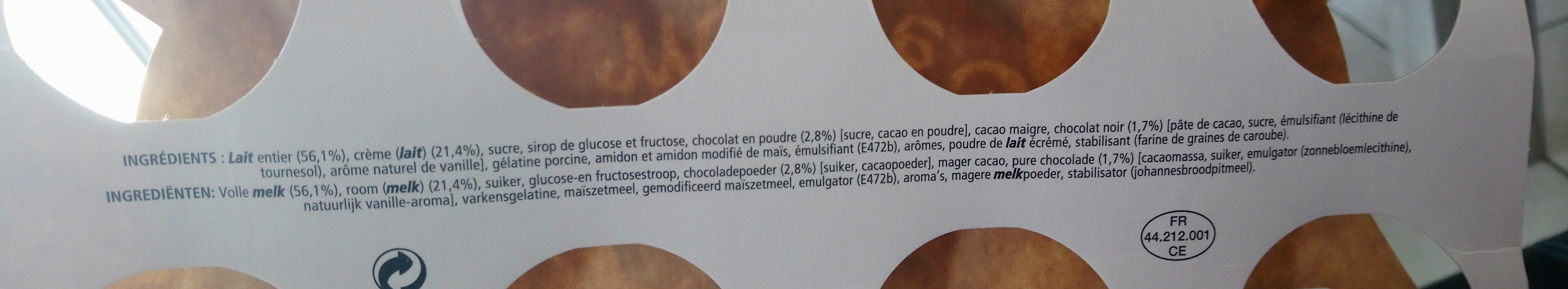 Le viennois mousse - Ingrédients - fr