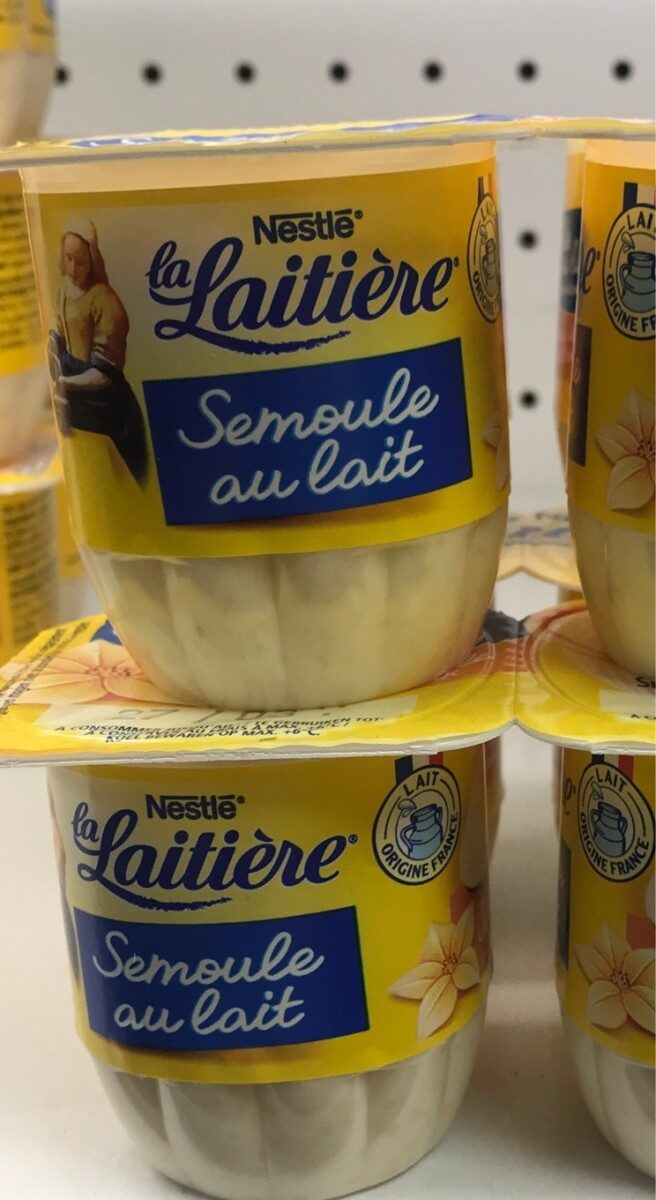 Semoule au lait - Product
