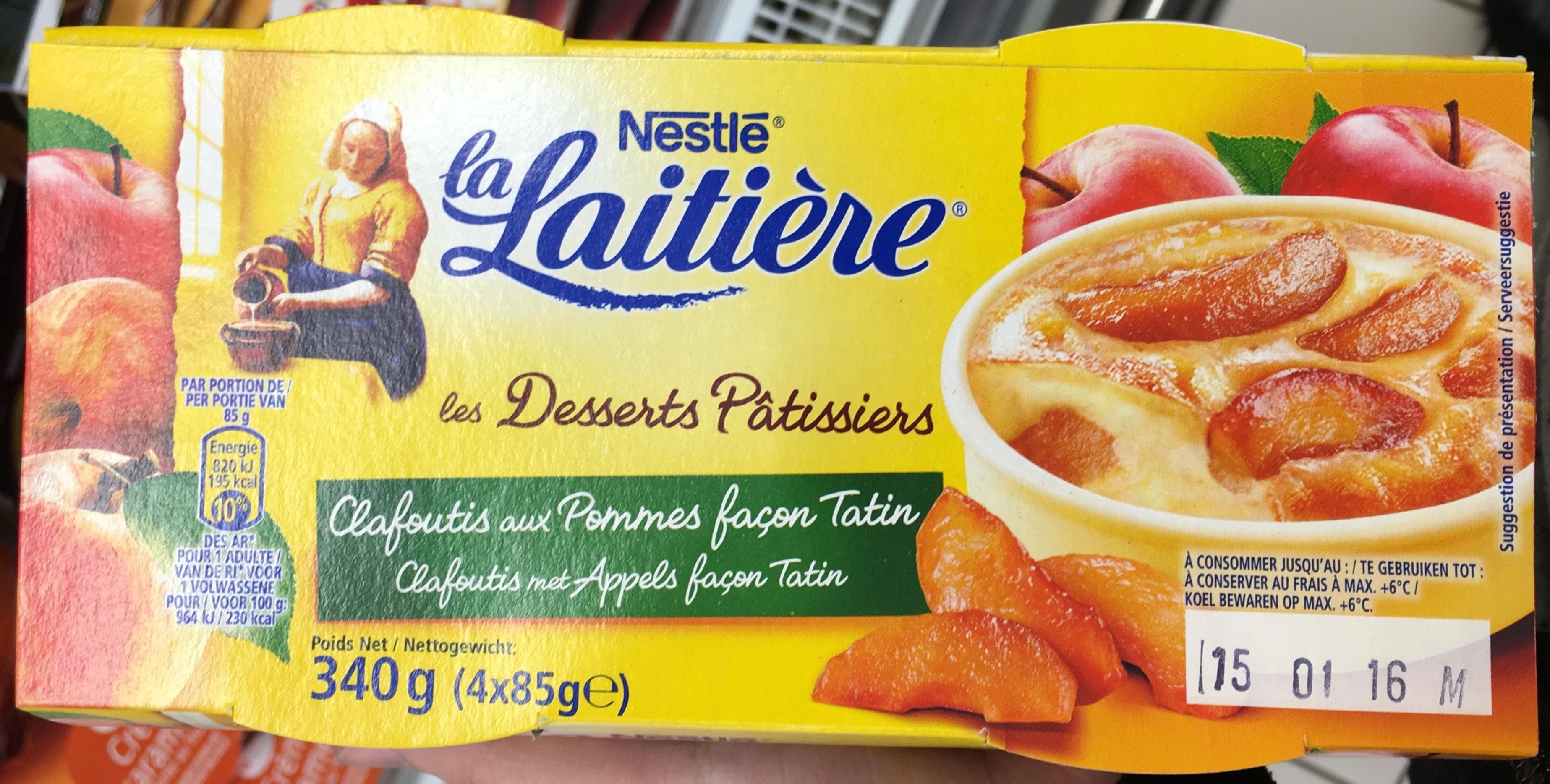 Clafoutis aux pommes façon tatin - Product - fr