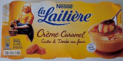 Crème Caramel Cuite & Dorée au four - Produit - fr