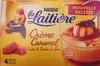 Crème Caramel Cuite & Dorée au four (4 Pots) - Product