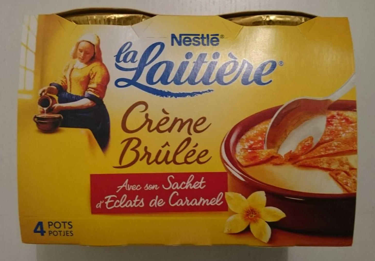 Crème brûlée - Produit - fr
