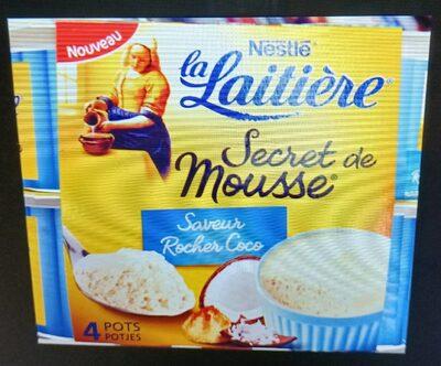 La Laitière secret de mousse saveur Rocher coco - Produit - fr