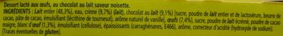 Le Petit Pot de Crème, Saveur Chocolat Noisette (4 Pots) - Ingrediënten