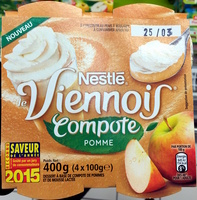 Le Viennois (Compote Pomme) - Product - fr