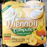 Le Viennois (Compote Pomme Banane) - Product - fr