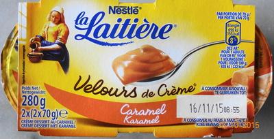 Velours de Crème (Caramel) - Produit - fr