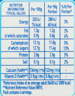 Munch Bunch Squashums Yogurt Drinks Strawberry - Nutrition facts - en