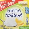 Ferme et Fondant saveur citron - Product