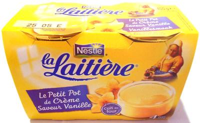 Le Petit Pot de Crème, Saveur Vanille (4 Pots) - Produit