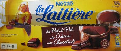 Le Petit Pot de Crème au Chocolat (8 Pots) - Produit - fr
