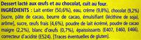 Le Petit Pot de Crème au Chocolat (8 Pots) - Ingrédients - fr