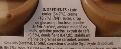 Mousse de Viennois (4 Café) - Ingredients - fr