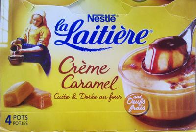 Crème Caramel, Cuite & Dorée au four (4 Pots) - Product
