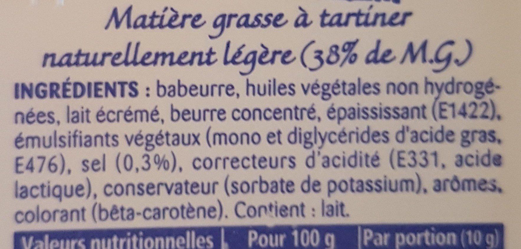 500G BQ Pate a Tartiner St Hubert 41 Doux - Ingrédients - fr