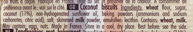 Sablé de Retz le Véritable - Ingredients - en