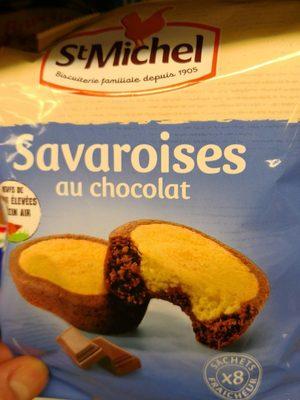 Savaroises au chocolat - Produit - fr