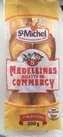 8 Madeleines Recette de Commercy - Produit - fr