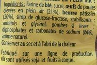8 Madeleines Recette de Commercy - Ingrédients - fr