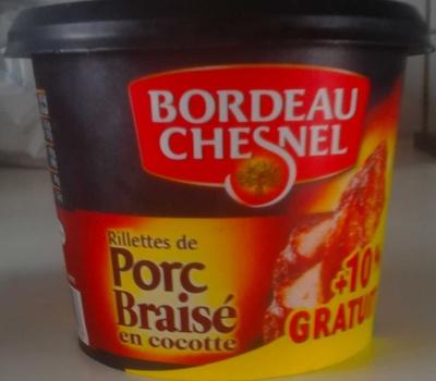 Rillettes de Porc Braisé en cocotte (+ 10 % Gratuit) - Produit