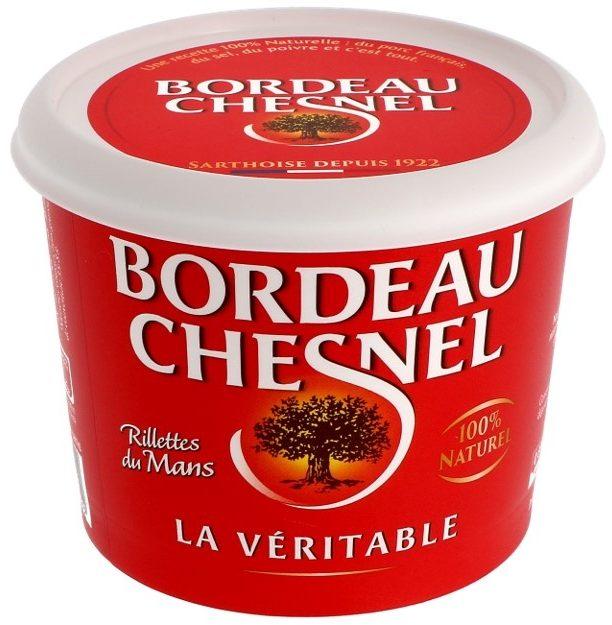 Rillettes du Mans Bordeau Chesnel - Produit - fr