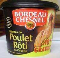 Rillettes de Poulet Rôti en Cocotte (+ 10 % Gratuit) - Produit - fr