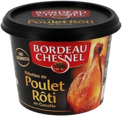 Rillettes de Poulet Rôti en cocotte - Produit