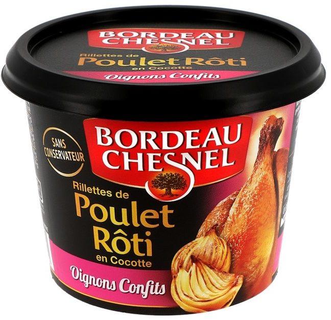 Rilettes de Poulet Rôti en Cocotte Oignons Confits - Produit