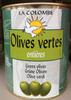 Olives vertes entieres - Produit