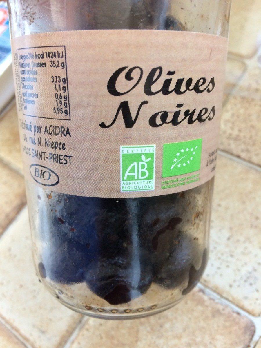 Olives noires - Produit - fr