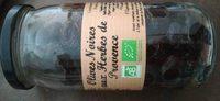 Olives noires aix herbes de Provence - Produit - fr