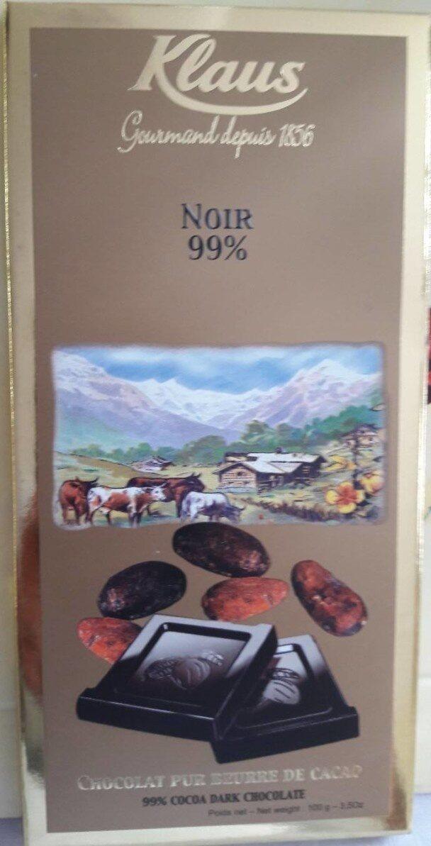 Chocolat Noir 99 % - Product