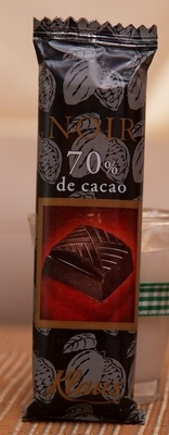 Chocolat Noir à 70% - Produkt - fr