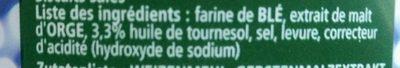 Bretzel Sport - Ingrédients - fr