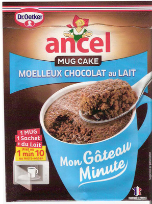 mug cake moelleux au chocolat au lait dr oetker 70 g. Black Bedroom Furniture Sets. Home Design Ideas