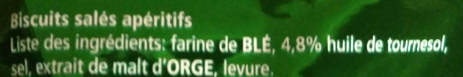 Bretzels d'Alsace Maxi - Ingrediënten
