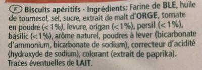 Bretzel'chips - Ingrediënten