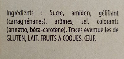 Fan entremets parfum vanille - Ingredients - fr