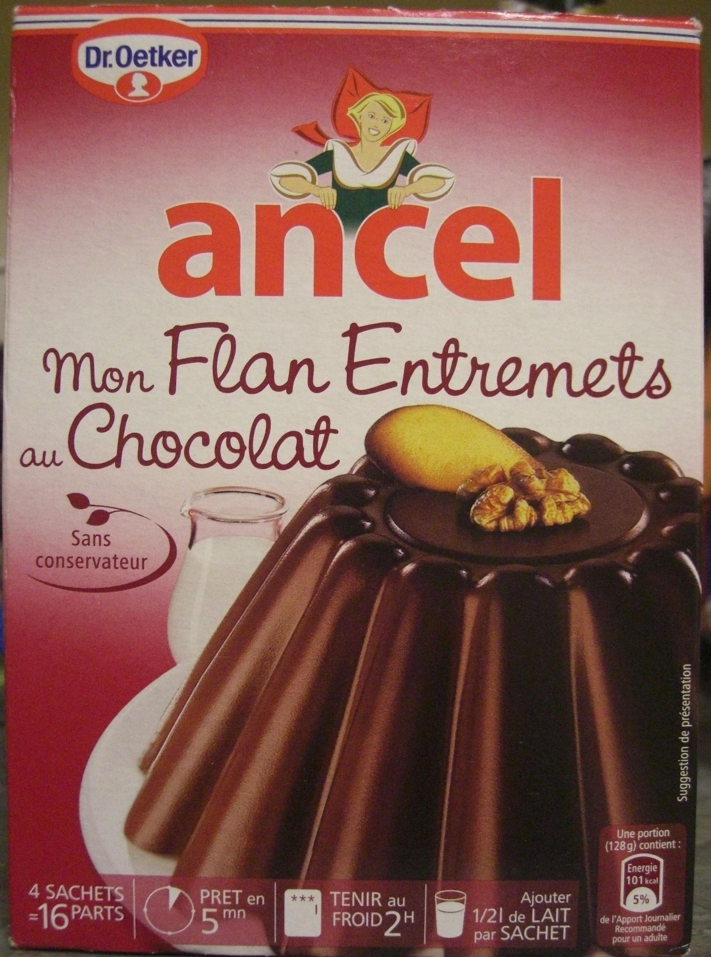 Mon flan entremets au chocolat - Ancel - 232g