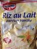 Riz au lait parfum vanille - Produit